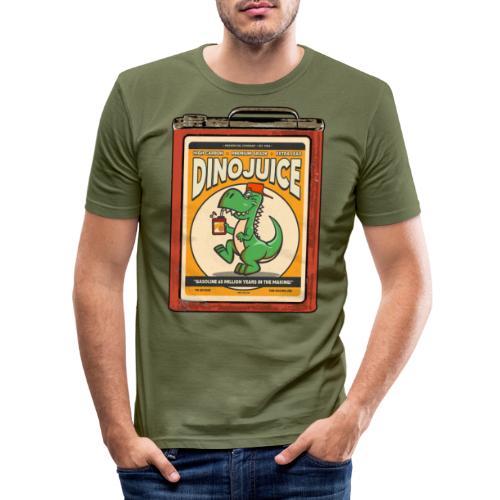 Dinojuice gas canister - Miesten tyköistuva t-paita