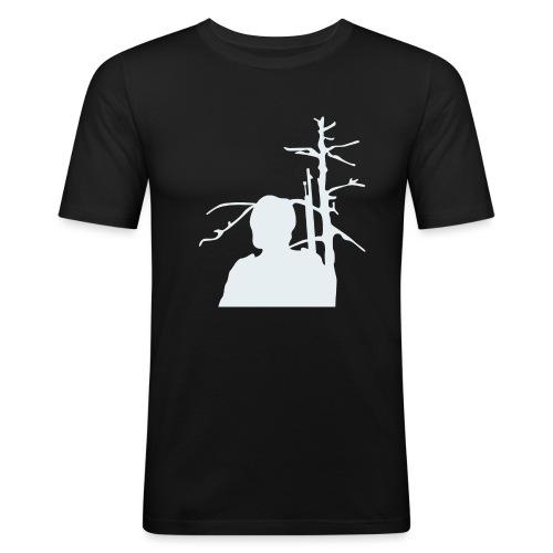 Sotilas - Miesten tyköistuva t-paita