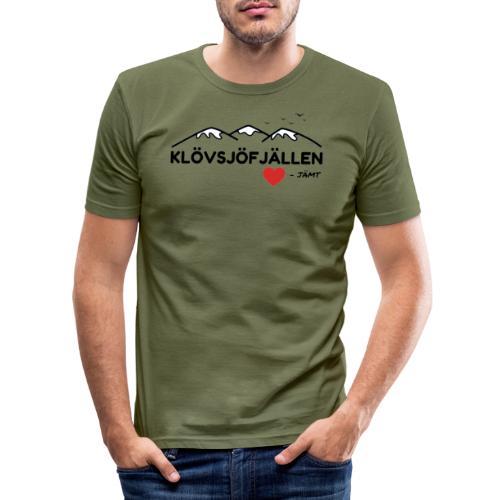 Klövsjöfjällen - Slim Fit T-shirt herr