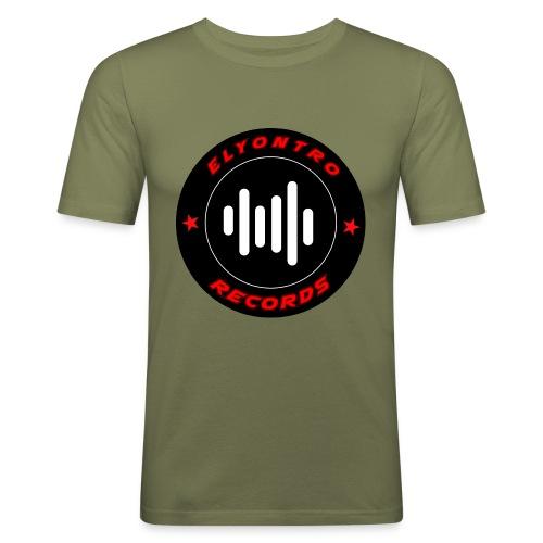 Logo Elyontro records - T-shirt près du corps Homme