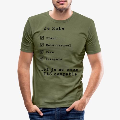 IDENTITAS Homme - T-shirt près du corps Homme