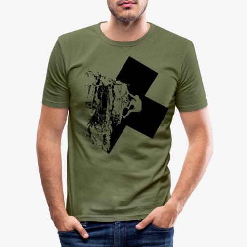 Escalada en roca - Men's Slim Fit T-Shirt
