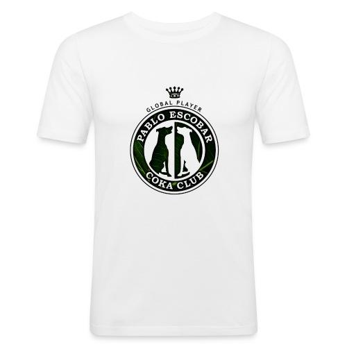 Pablo Escobar / Colore version - Männer Slim Fit T-Shirt