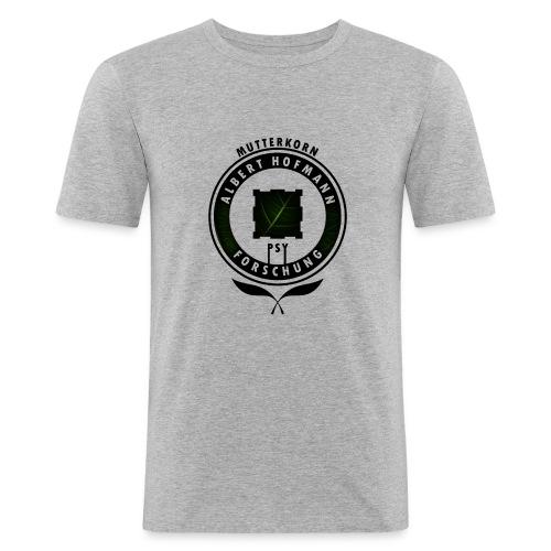 AlbertHofmann_Forschung - Männer Slim Fit T-Shirt