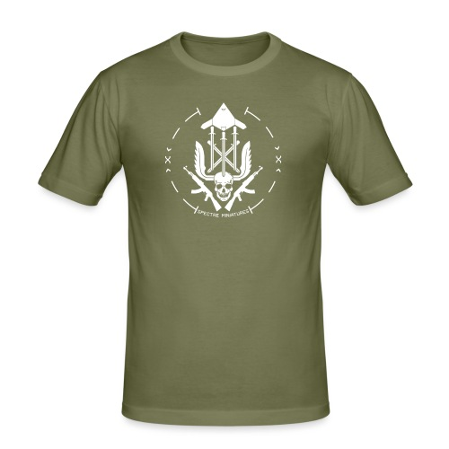 Initiative Logo - Men's Slim Fit T-Shirt