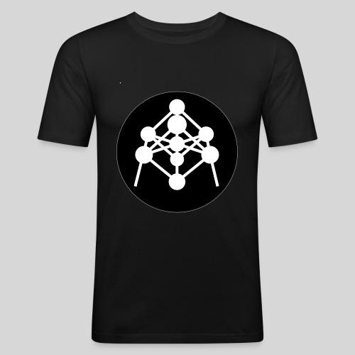 Atomium - T-shirt près du corps Homme