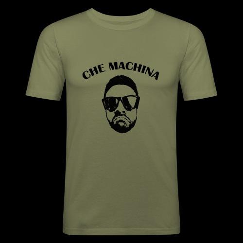 CHE MACHINA - Maglietta aderente da uomo