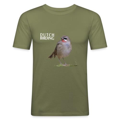 RoodKeelNachterGaalHoogWo - Mannen slim fit T-shirt