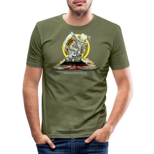 PsychopharmerKarl - Männer Slim Fit T-Shirt