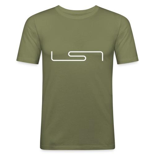 LSN-Logo - Men's Slim Fit T-Shirt