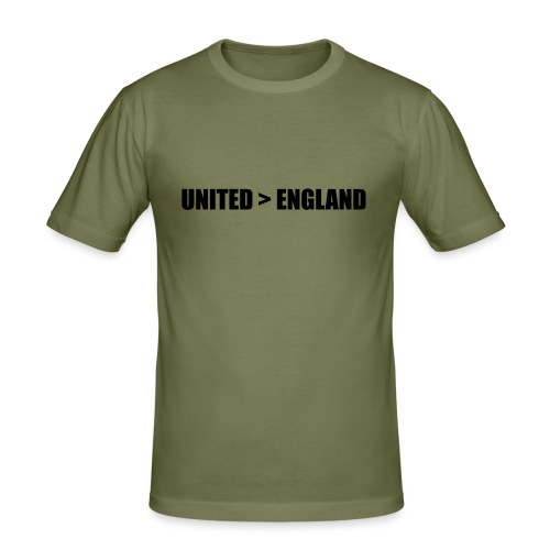 United > England - Men's Slim Fit T-Shirt