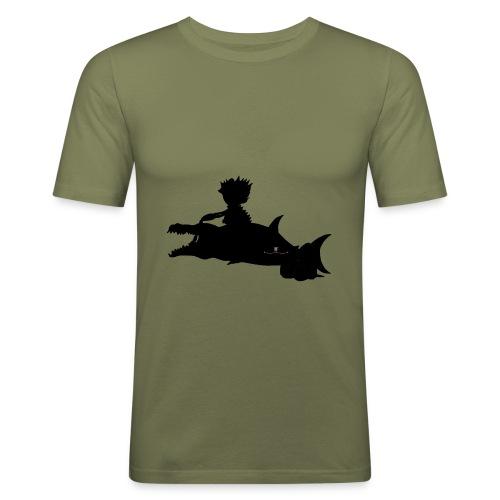 Energiewesen Pistrili - Männer Slim Fit T-Shirt