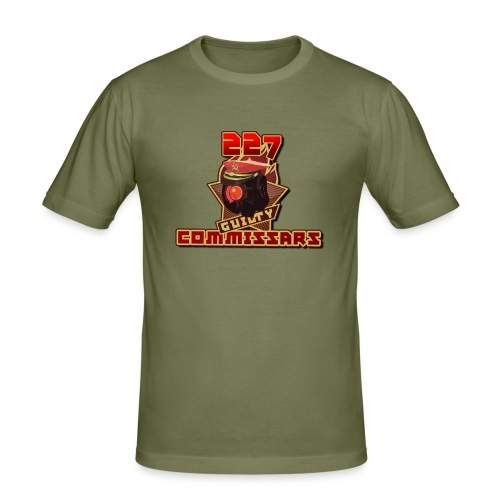 Guilty Commissars Espots Team - Men's Slim Fit T-Shirt