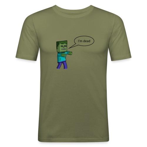 T - Short - Slim Fit T-skjorte for menn
