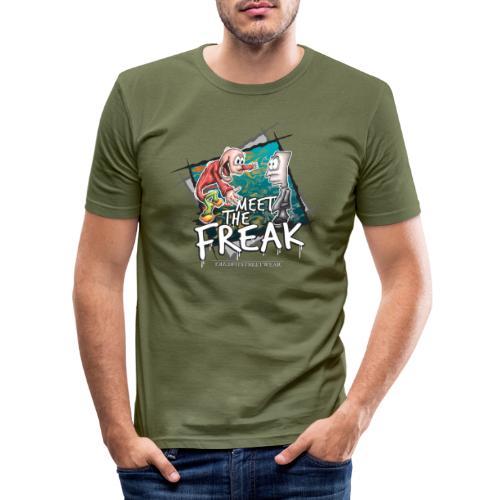 meet the freak - Männer Slim Fit T-Shirt