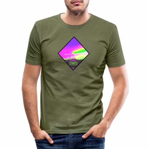 NeonfarbenNuceSKY ValCO - Männer Slim Fit T-Shirt