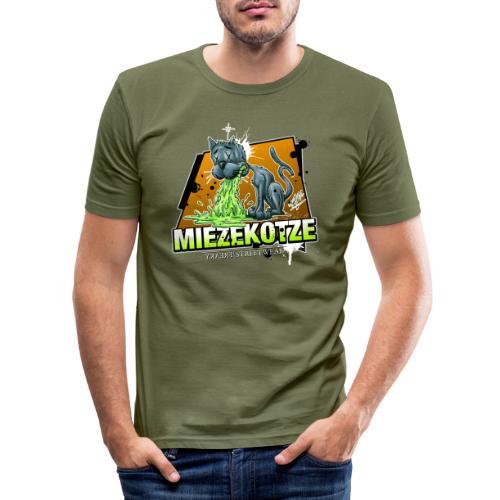Miezekotze - Männer Slim Fit T-Shirt