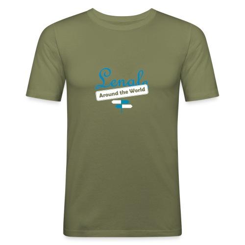 LOGO front - Camiseta ajustada hombre
