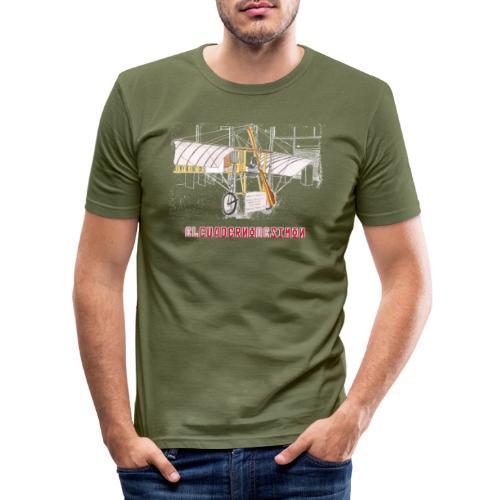 Aviones plateados - Camiseta ajustada hombre