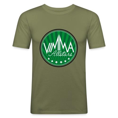 Vimma t-paita, naisten - Miesten tyköistuva t-paita