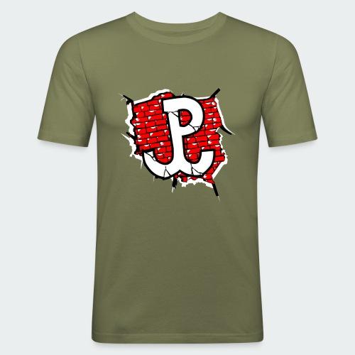 Damska Koszulka Patriotyczna Premium - Obcisła koszulka męska