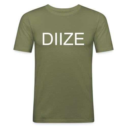 DIIZE logo shirt - Mannen slim fit T-shirt