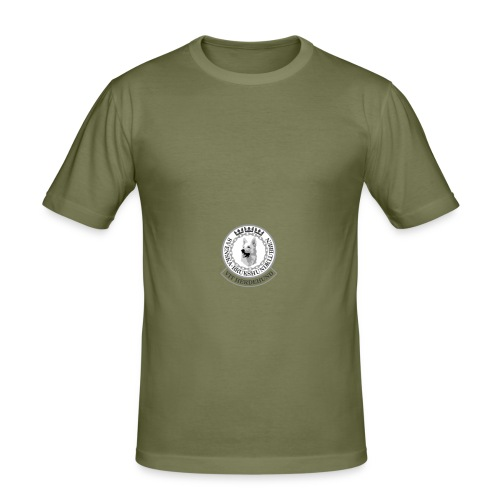 vhk-ny-logo-pos - Slim Fit T-shirt herr