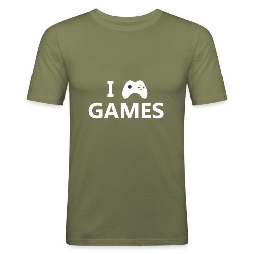 I Love Games 2 - Camiseta ajustada hombre