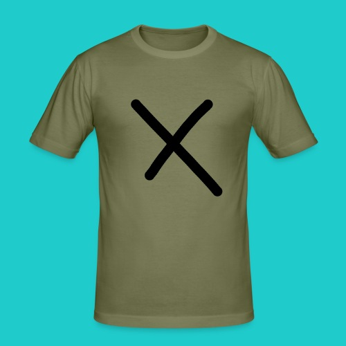 X - Männer Slim Fit T-Shirt