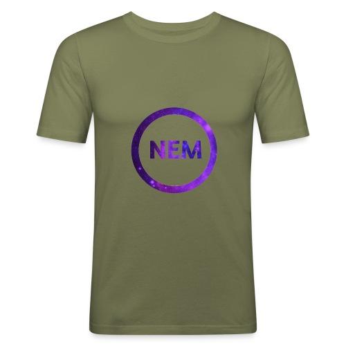 NEM OWNER - Miesten tyköistuva t-paita