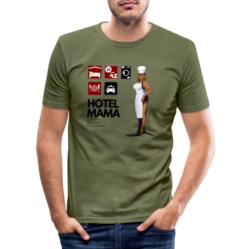 Hotel Mama - Männer Slim Fit T-Shirt