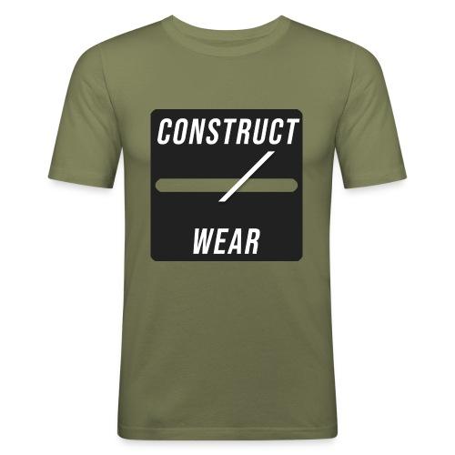 constructwear. Future design - Männer Slim Fit T-Shirt