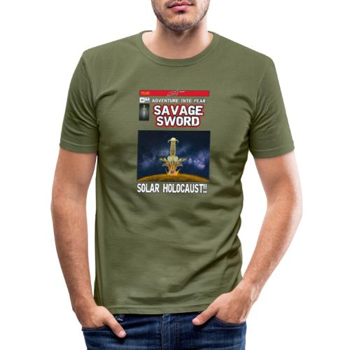 180813 Savage Sword Comic Lajarin Dream - Camiseta ajustada hombre