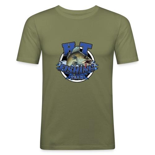 HT Fishing Team - Miesten tyköistuva t-paita