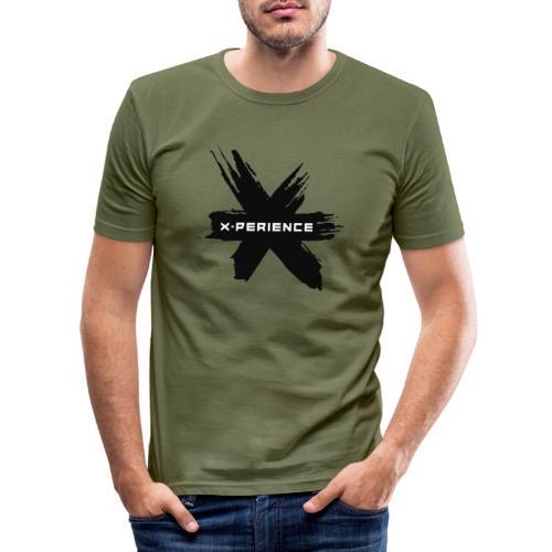 x-perience - Das neue Logo - Männer Slim Fit T-Shirt