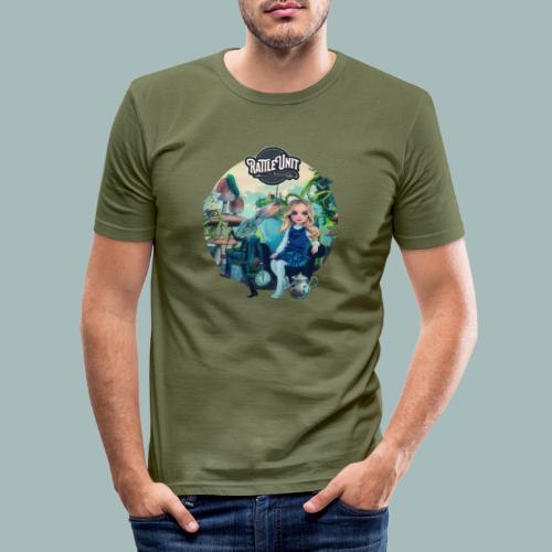 Letting Go Merch - Mannen slim fit T-shirt