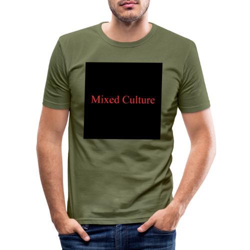 Mixed Culture - Männer Slim Fit T-Shirt