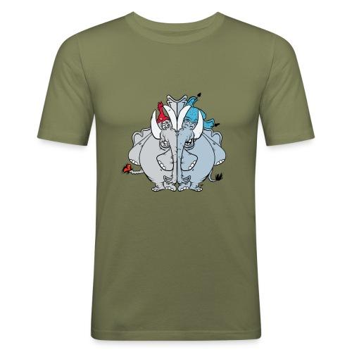Bästa vänner - Slim Fit T-shirt herr