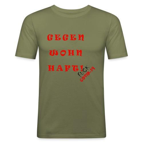 Fight COVID-19 #20 - Männer Slim Fit T-Shirt