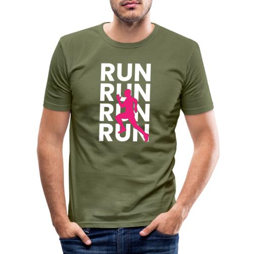 RUN - Männer Slim Fit T-Shirt