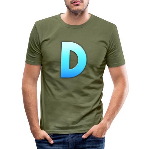 D LOGO - Camiseta ajustada hombre