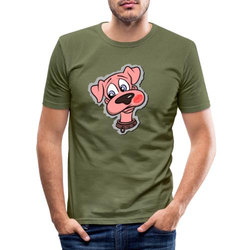Hund zum Kuscheln - Männer Slim Fit T-Shirt