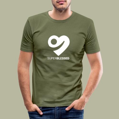Superblessed - Männer Slim Fit T-Shirt