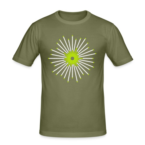 fancy_circle - Men's Slim Fit T-Shirt