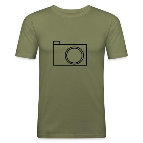 camera - Men's Slim Fit T-Shirt