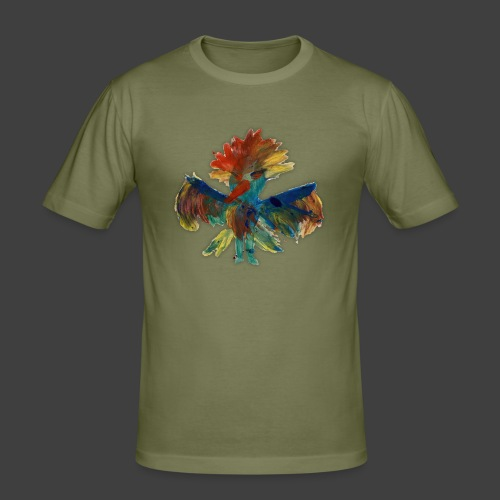 Mayas bird - Men's Slim Fit T-Shirt