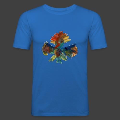 Mayas bird - Men's Slim Fit T-Shirt