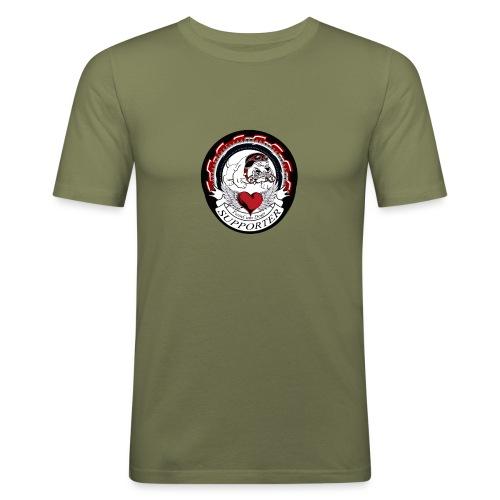 supporter - Männer Slim Fit T-Shirt