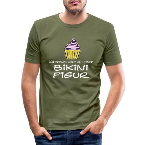 Bikinifigur - Männer Slim Fit T-Shirt