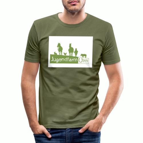 jugendfarmpng - Männer Slim Fit T-Shirt